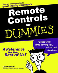 Remote Controls for Dummies