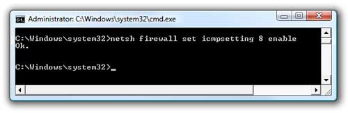 Enable ICMP1