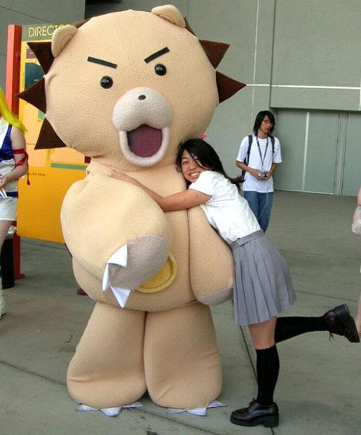 Kon and Rukia