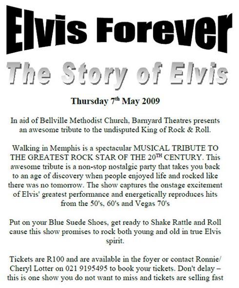 Barnyard Elvis