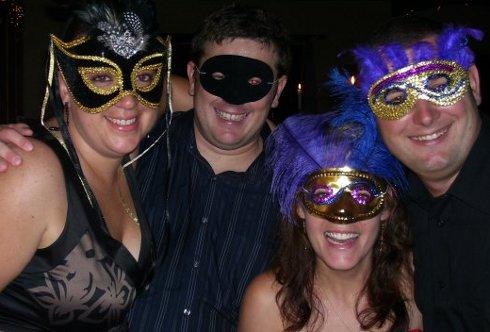 Chantelle Craig Dean Zania Masked Ball