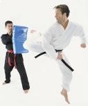 Karate Reverse Kick to Bag