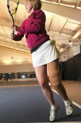 Play Tennis with a Prosthetic Leg