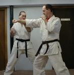 Karate Front Jab
