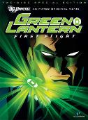 Green Lantern First Flight Cover