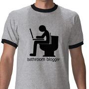 Bathroom Blogger T shirt