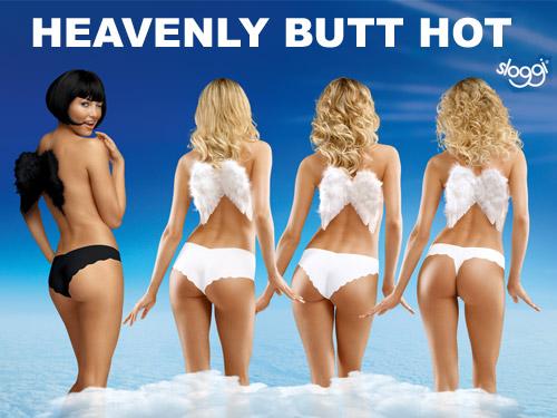Sloggi Heavenly Butt Hot Campaign