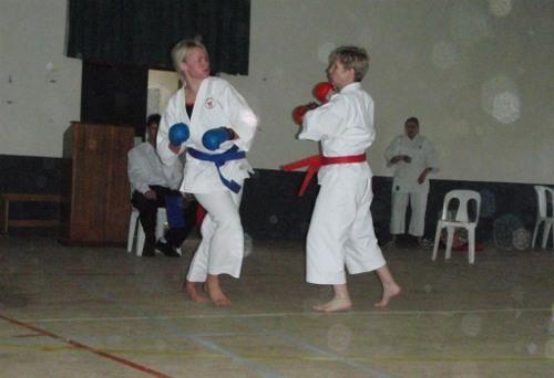Barbie Funakoshi Karate