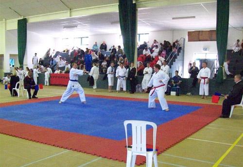 Craig Lotter versus Gerrit Funakoshi Karate