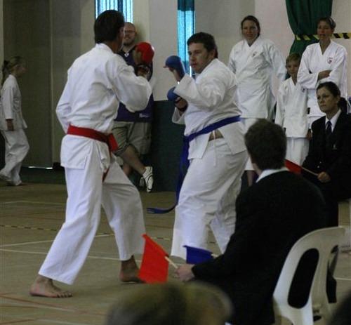 Craig Lotter versus Ian Funakoshi Karate
