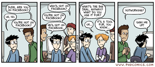 Facebook PHD Comics