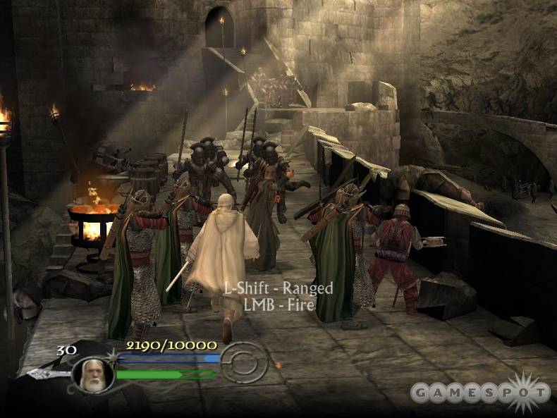Lord of the Rings Return of the King ps2 game