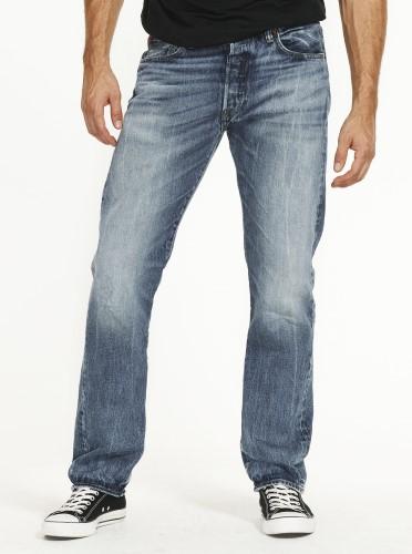 male legs in jeans
