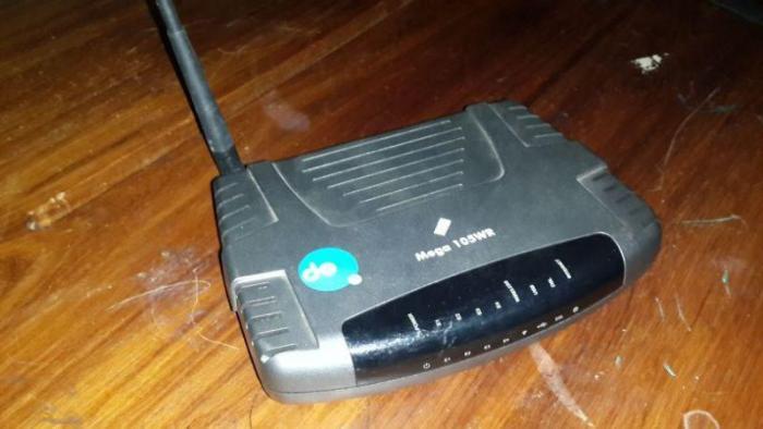 telkom mega 105wr router