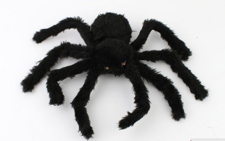 scary toy spider