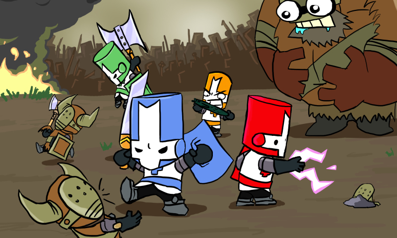 castle crashers promo image
