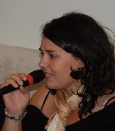 Retha-playing-Singstar