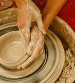 hands-in-clay