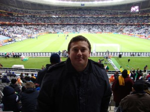 Cape Town Stadium - Italy vs. Paraguay - World Cup 2010!