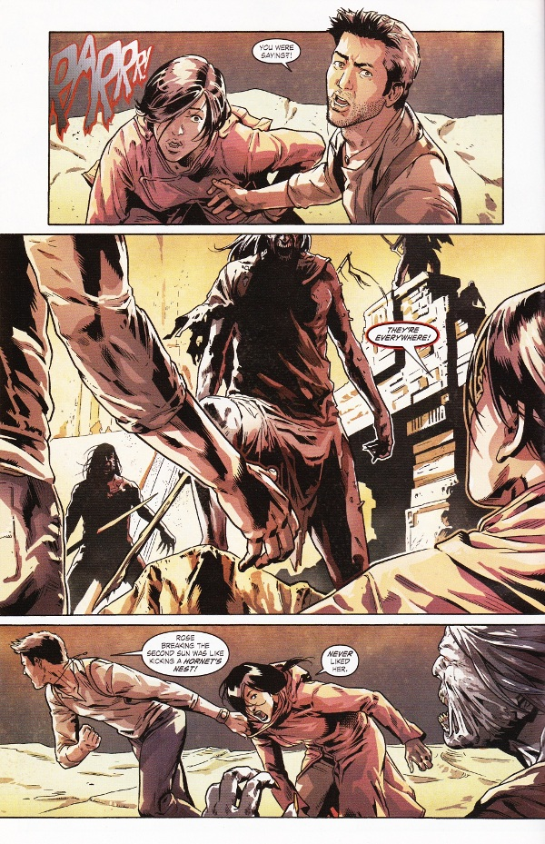 Uncharted Comic Book