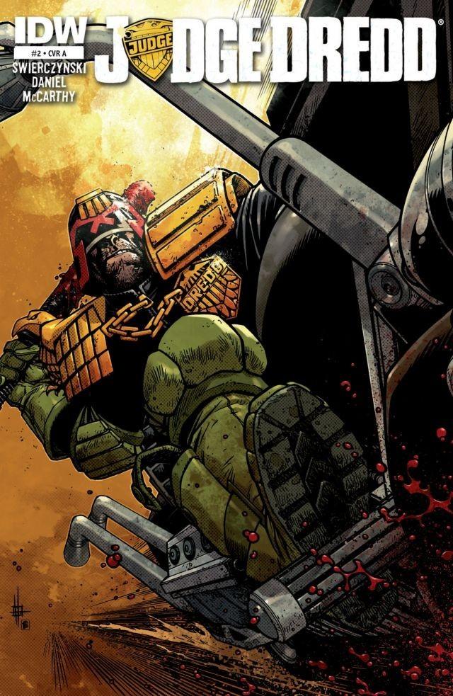 Nelson Daniel Judge Dredd issue 2 Cover 2012