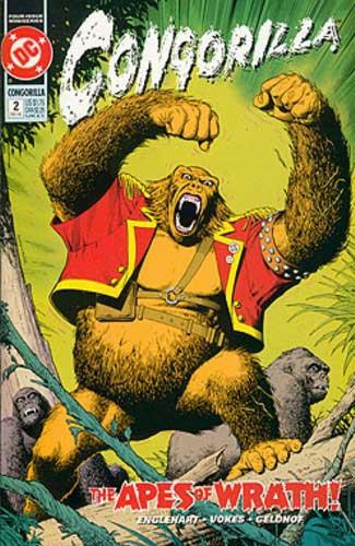 congorilla issue 2 dc comics vokes