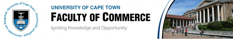 university of cape town faculty of commerce web banner