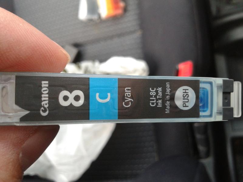 Canon inkjet print cartridge