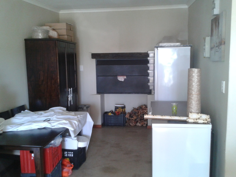 new kic chest freezer in braai room at country mews