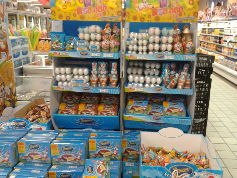 beacon easter eggs at pick n pay in january