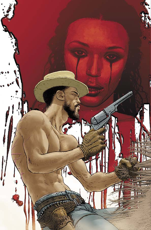comic book art django unchained by frank quitely