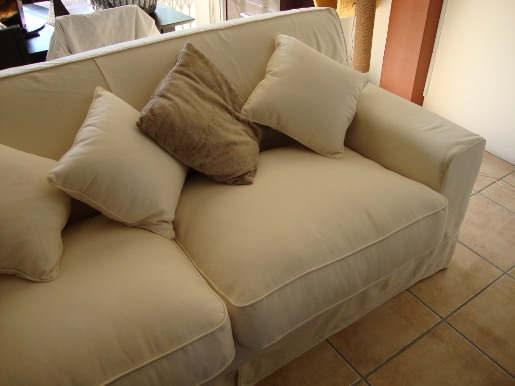 For Sale Coricraft 2 Seater Slip Cover Couch R3 000