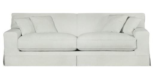 coricraft 2 seater slip cover couch california natural