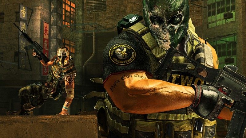 army of two the 40th day screenshot