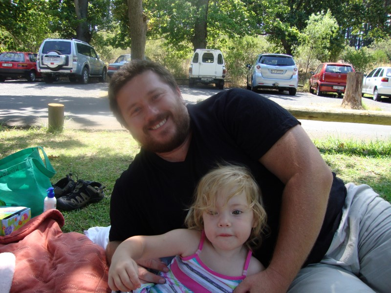 craig lotter with daughter jessica