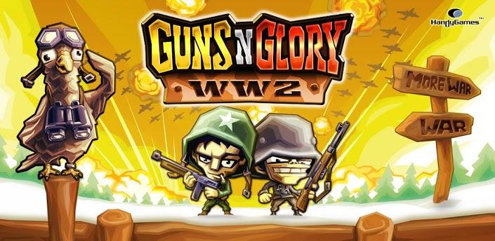 guns n glory ww2 android game