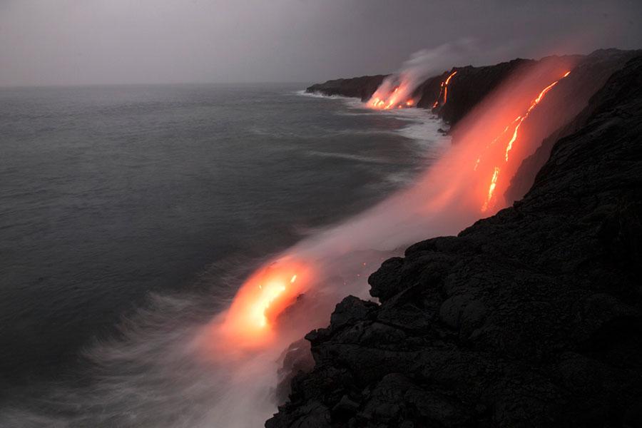 kilauea volcano in hawaii, united states of america