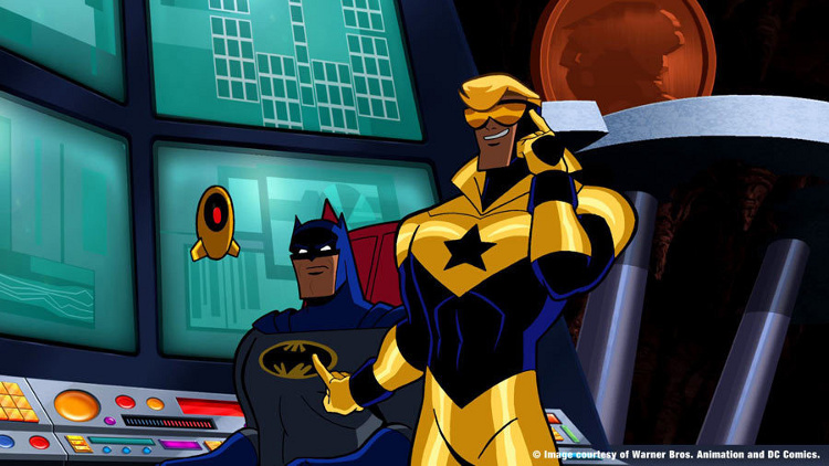 batman brave and the bold volume 4 booster gold
