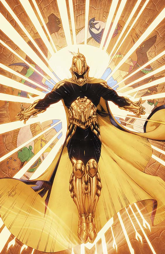 comic book art earth 2 dr fate by brett booth and norm rapmund