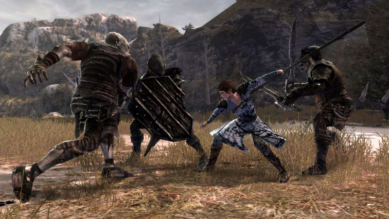 lord of the rings war in the north screenshot