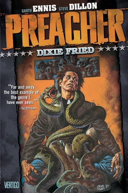 preacher volume 5 fried dixie comic cover