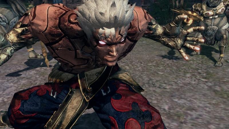 asura's wrath xbox 360 capcom cyberconnect2 game screenshot 1