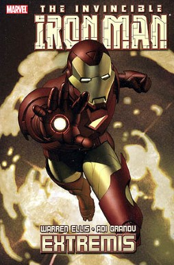 iron man extremis trade paperback cover