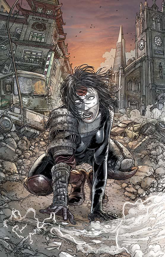 comic book art katana by juan jose ryp