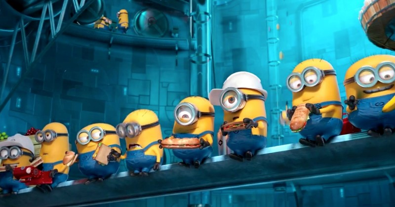 despicable me 2 minion workers screenshot