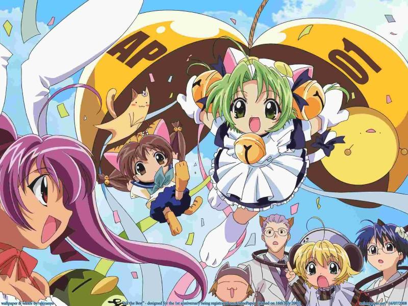 di gi charat anime wallpaper