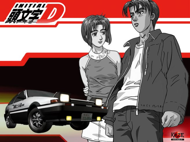 initial d first stage anime 2