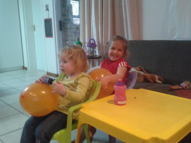 jessica lotter and zandea stapelberg watching aristocats