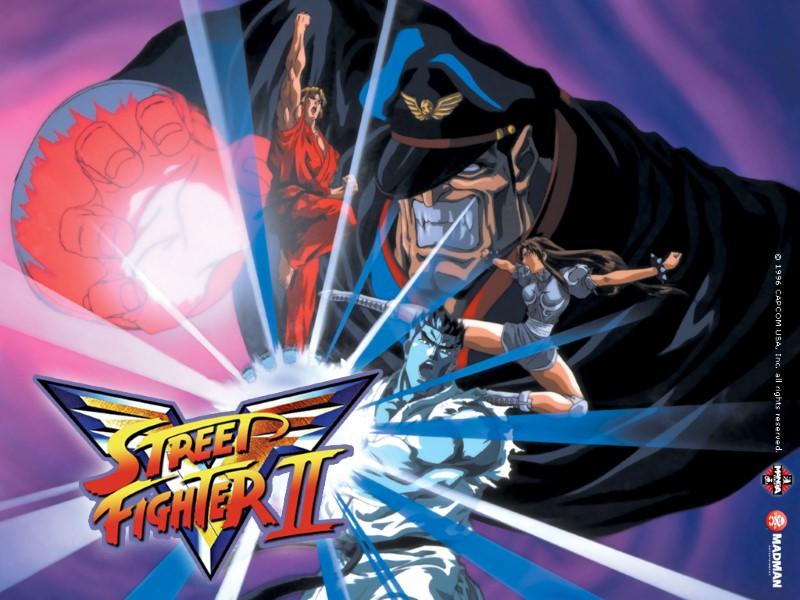 street fighter ii v anime wallpaper