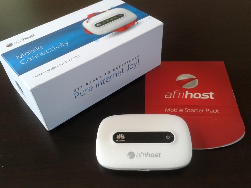afrihost mobile data mifi huawei 3g modem device